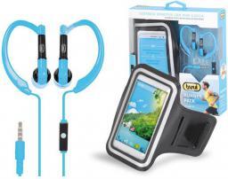 Słuchawki Trevi JR660 + opaska biegowa na smartfon