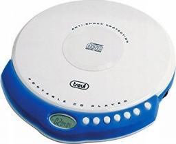 Odtwarzacz CD Trevi Odtwarzacz CD, CD-RW, MP3 Biały (CMP498)