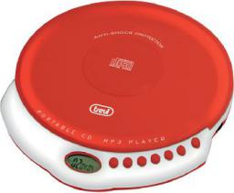 Odtwarzacz CD Trevi Odtwarzacz CD, CD-RW, MP3, Czerwony (CMP498)