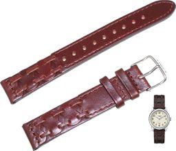 Timex Pasek do zegarka Timex T2N902 P2N902 16 mm Skóra uniwersalny
