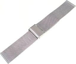 Tekla Bransoleta stalowa do zegarka 22 mm Tekla BC1.22 Silver uniwersalny