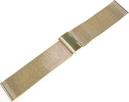 Tekla Bransoleta stalowa do zegarka 26 mm Tekla BC2.26 Gold uniwersalny