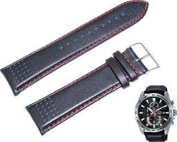 Lorus Skórzany pasek do zegarka 24 mm Lorus RM393DX9 uniwersalny