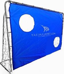 YakimaSport Bramka stalowa składana 215cm x 150cm + mata (13875)