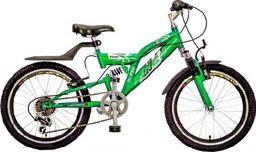 "Rowerland Rower R-Land 20"" ARICO kawasaki zielony Uniwersalny"