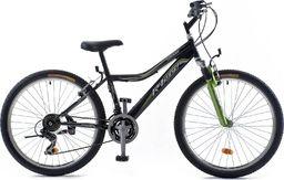 "Rowerland Rower R'Land MTB 26"" CONVAIR czarny-zielony 17"""