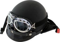 Sports Equipment AG221D KASK MOTOCYKLOWY PLUS GOGLE RETRO L uniwersalny