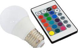 Apte ZD7C ŻARÓWKA LED RGB PILOT E27 3W 16 KOLORÓW uniwersalny