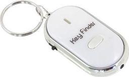 Apte Lokalizator kluczy brelok biały (AG411B)