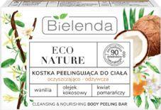 Bielenda Bielenda Eco Nature kostka peelingująca Wanilia + Olejek Kokosowy + kwiat pomarańczy 80g uniwersalny