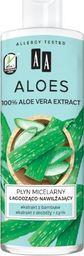 AA Aloes 100% Płyn micelarny łagodząco-nawilżający 400ml uniwersalny