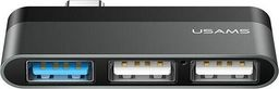 HUB USB Usams USB C na 3xUSB (US-SJ461)