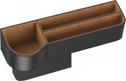 Baseus Organizer samochodowy Baseus Elegant Car Storage Box, skórzany (czarny)