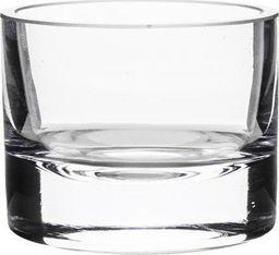 Pigmejka Mały Klasyczny Świecznik Szklany Tealight 7,5x9 cm uniwersalny