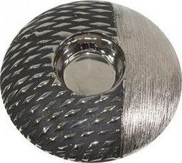 Pigmejka Świecznik kula srebrna ceramiczna H: 4,5 uniwersalny