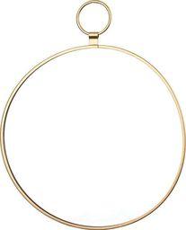 Pigmejka Lustro okrągłe Dekoracyjne złote 29x34,5x0,5 uniwersalny