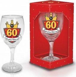 """BGtech Kieliszek do wina Gold 220 ml """"60"""" uniwersalny"""
