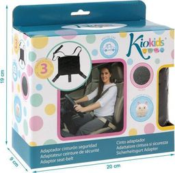 Kiokids Adapter do pasa samochodowego dla kobiet w ciąży KioKids