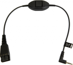Jabra Kabel QD ze złączem 2,5 mm z funkcją Push-to-talk (8800-00-55)