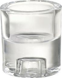 Bolsius Świecznik szklany BOLSIUS 2w1 ROUND 65/60
