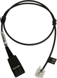 Jabra Przewód QD do podłączania modułowego prostego dolnego kabla 0.5m (8800-00-94)