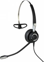 Słuchawki z mikrofonem Jabra BIZ 2400 II Mono 3in1  (2486-825-209)