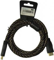 Kabel Libox HDMI - HDMI 3m złoty (LB0040-3)