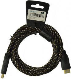 Kabel Libox HDMI - HDMI 3m Czarny (LB0040-3)