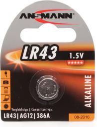 Ansmann Bateria, LR 43, 1,5V (5015293)