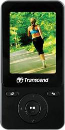 "Odtwarzacz MP4 Transcend MP710  8GB, 2"" Czarny (TS8GMP710K)"