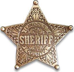 DENIX Złota Odznaka Sheriff Lincoln (104)