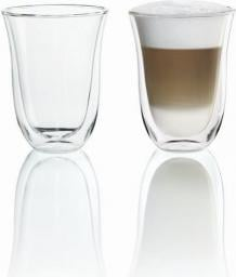 DeLonghi Szklanki 220 ml do Latte Macchiato 2szt. (5513214611)