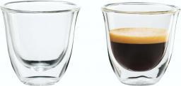 DeLonghi Espresso Szklanka Thermoglas 60ml, 2 sztuki (5513214591)