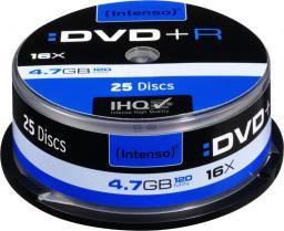 Intenso DVD+R 16x CB 4,7GB 25 sztuk (4111154)