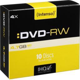 Intenso DVD-RW 4x SC 4,7GB Intenso 10 sztuk (4201632)
