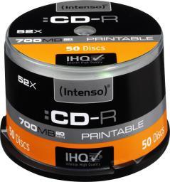Intenso CDR 52x CB 700MB Intenso Pr. 50 sztuk (1801125)