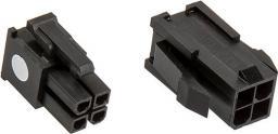 CableMod Wtyczka 4-Pin ATX12v, czarny