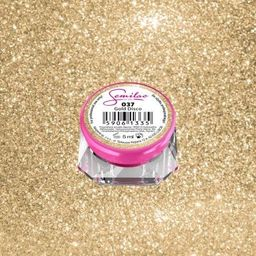 Semilac Semilac Kolorowy lakier żelowy 037 Gold Disco 5ml uniwersalny