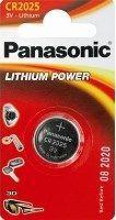 Panasonic Bateria Lithium Power CR2025 165mAh 1szt.