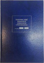 Typograf Dziennik zajęć pedagoga szkolnego i psychologa A4