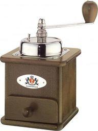 Młynek do kawy Zassenhaus Młynek Zassenhaus Brasilia do kawy, 12,5x12x20 cm, ciemny