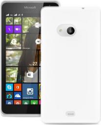 Puro Etui Ultra Slim 0.3 mm do Microsoft Lumia 535 + Folia ochronna, Przezroczysto-białe (MSLUMIA53503TR)