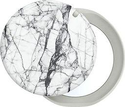 PopSockets PopGrip Mirror podstawa i uchwyt z wymiennym blatem na smartfony i tablety - Stone White Marble