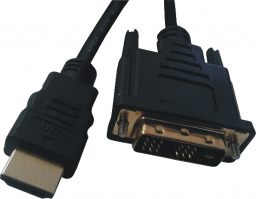 Kabel Mcab DVI HDMI, 2, Czarny (7300085)