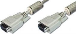 Kabel Mcab D-Sub (VGA) - D-Sub (VGA), 10, Szary (7000516)