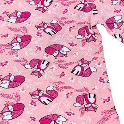 Pepco PEPCO T-shirt dziewczęcy leśne elementy 9-48 (104) 9/12 różowy