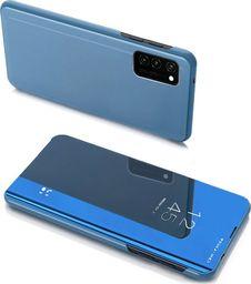 Hurtel Clear View Case futerał etui z klapką Samsung Galaxy Note 20 niebieski uniwersalny