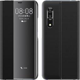 Hurtel New Sleep Case pokrowiec etui z klapką z funkcją podstawki Huawei P30 Pro czarny uniwersalny