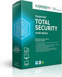 Kaspersky Lab Total Security Multi-Device 3 stanowiska 2 lata Kontynuacja ESD (KL1919PCCDR)