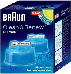 Braun Wkład z płynem czyszczącym do golarek CCR2  (382683)
